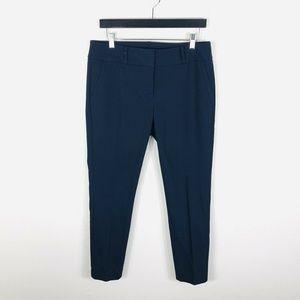 Ann Taylor LOFT Navy Blue Julie Skinny Ankle Pants